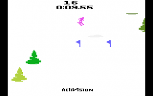 Activision Skiing Strategy